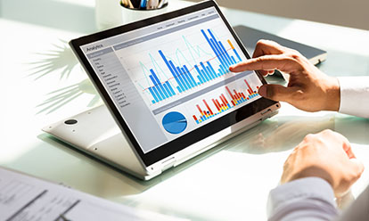 Person view graphs and data