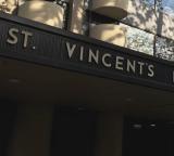 St Vincent's Hospital sign